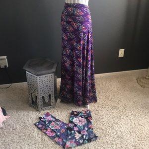 LuLaRoe Skirts - 🔥🔥1 hr SALE -  LuLaRoe Skirt & Leggings